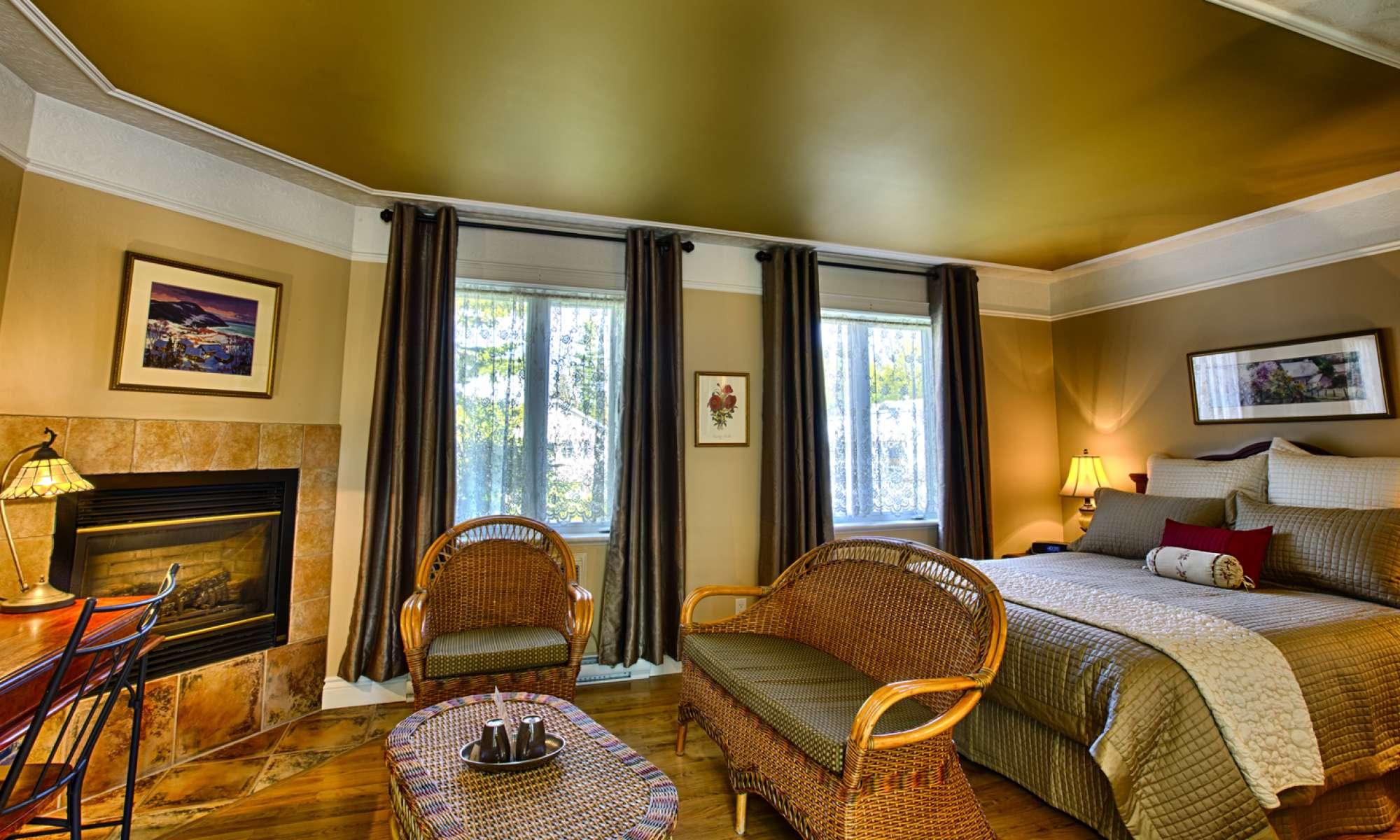 Chambre d\'hôtel de luxe, Baie-Saint-Paul, Charlevoix